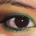 Green, Red, and Yellow Eyeshadow Tutorial!