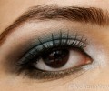 Electric Blue and Green Eye Makeup Tutorial