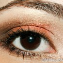 Copper Fall Makeup Look for Fall 2012