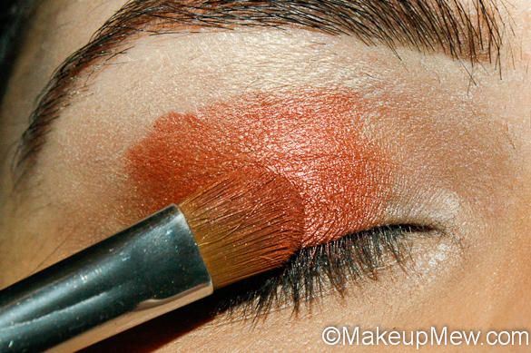 Copper Fall Makeup