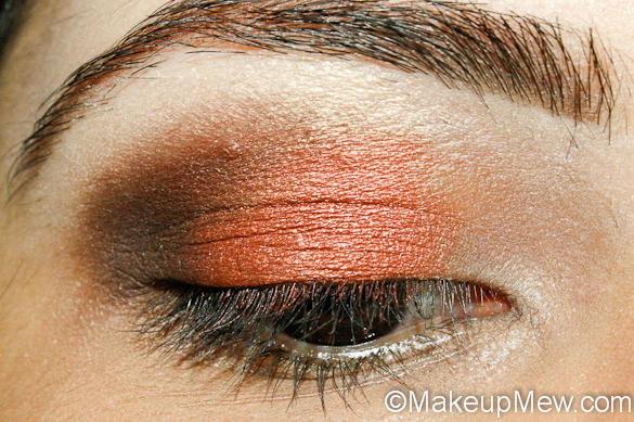 Copper Fall Makeup Look