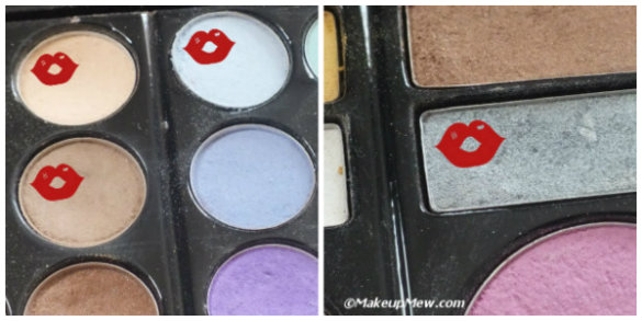 Apply 4 eyeshadows on your eye. It doesn't have to be complicated.