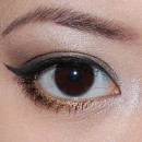 Finished-How to Do a Smokey Eye with 1 Color