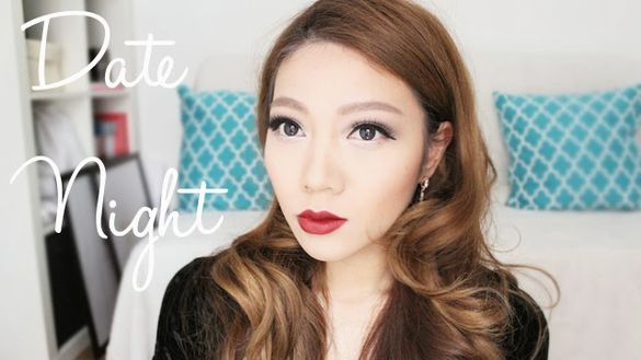 Full length hair and makeup tutorial for the Big Date Night!