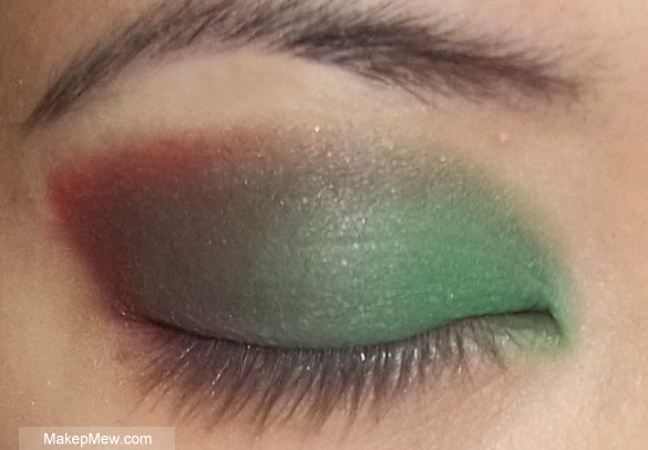 Blend it as well as you can to get rid of harsh lines!