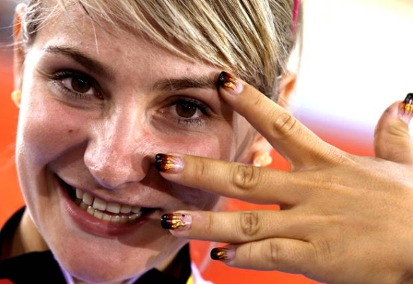 Image of German Cyclist Kristina Vogel