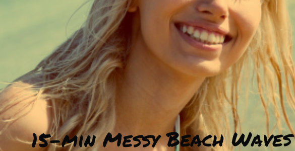 How to do: 15-min Messy Beach Waves