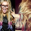 Easy and Bold Temporary Hair Color- Hair Chalking Tutorial