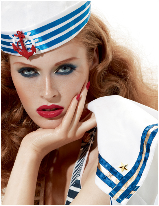 Doing MAC&#8217;s &#8220;Hey Sailor&#8221; Pin-up Look