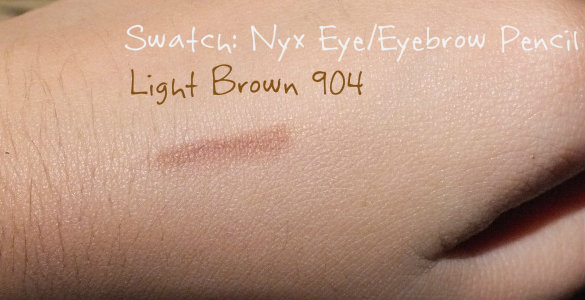 Swatch - Nyx Eye/ Eyebrow Pencil