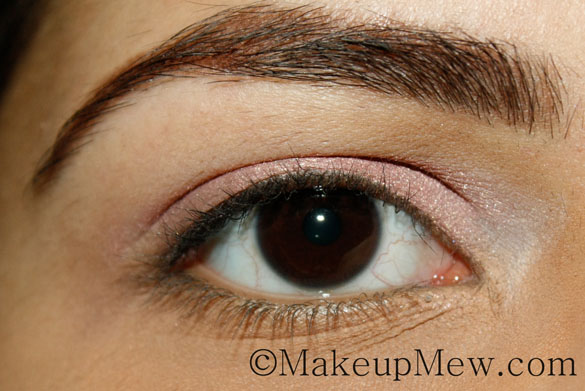 Pretty in Pink Neutral Makeup Tutorial Eyeshadow