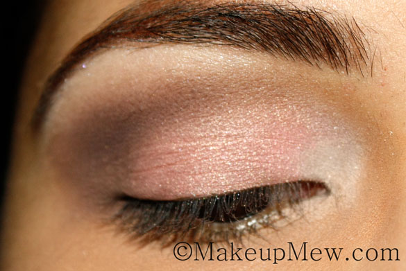 Pretty in Pink Neutral Makeup Tutorial Sleek Oh So Special Eyeshadow