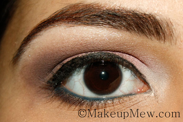 Pretty in Pink Neutral Makeup Tutorial CoverGirl Perfect Point Plus Eyeliner Pencil in Midnight Blue