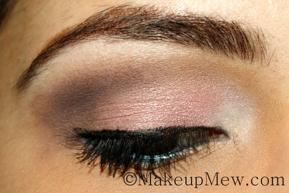 Pretty in Pink Neutral Makeup Tutorial Mascara