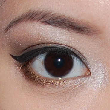 Do a winged eyeliner for a sexier look!