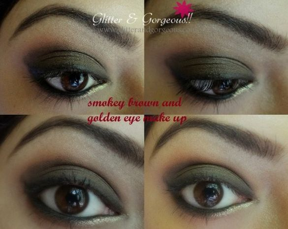 The Perfect Brown Smoky Tutorial by Glitter and Gorgeous