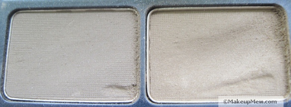 Image of the two shades in Urban Decay Brow Box in Beige Betty