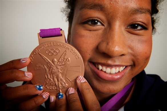 Image of American Swimmer Lia Neal